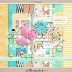FREE Digital Scrapbook Kit  Fleetwood