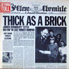 Jethro Tull - Thick As A Brick (Vinyl, LP, Album) at Discogs  1972/gatefold