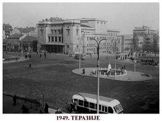 The Square of Republic in 1949 - Belgrade ~ Serbia