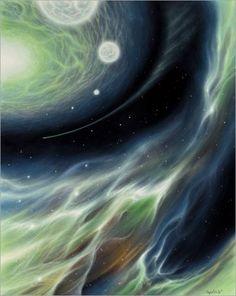space art, spiritual art, healing art, cosmic art