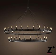 "Aliexpress.com : Buy America Style Industry Country High quality replica Chandelier CAMINO VINTAGE CANDELABRA TWO TIER CHANDELIER 62"" Free shipping from Reliable Chandeliers suppliers on Z+ 