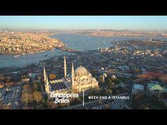Week-end à Istanbul - Échappées belles Pierre Loti, Istanbul, Sainte Sophie, Grand Bazar, Le Havre, Week End, Paris Skyline, Photo And Video, World