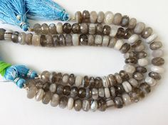 WHOLESALE 5 Pcs Boulder Opal Beads Boulder Opal by gemsforjewels