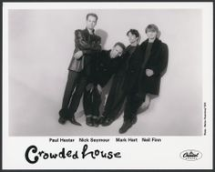 Crowded House - Australia - Hit : Don't Dream It's Over - 1986