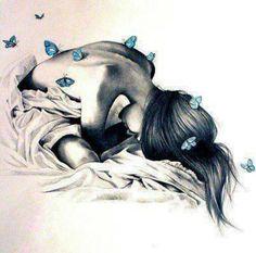 Резултат с изображение за women cry butterfly wings