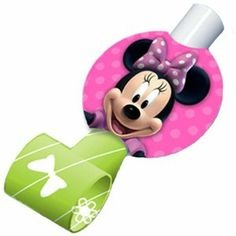 Disney Minnie Mouse Bow-tique Blowouts Party Accessory by Hallmark. $3.77. Manufactured to the Highest Quality Available.. Great Gift Idea.. Design is stylish and innovative. Satisfaction Ensured.. Includes (8) themed blowouts. This is an officially licensed Disney product.