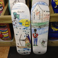 New Polar skateboards! Oh yeah! Oh yeah! Oh yeah! - SURF ZONE
