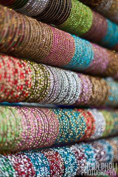 Glass bangles