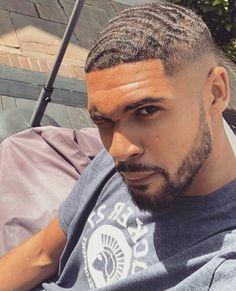 Black Boys Haircuts, Black Men Hairstyles, Haircuts For Men, Men's Haircuts, Curly Hairstyles, Waves Hairstyle Men, Waves Haircut, Hairstyle Ideas, Hair Ideas