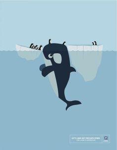 熱心的鯨魚 ! :))