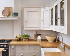 kitchen cabinets different colors top bottom - Google Search
