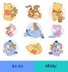 Baby Pooh Piglet Eeyore Tigger T-shirt Iron on transfer Igor Winnie Pooh, Winnie The Pooh Drawing, Cute Winnie The Pooh, Winnie The Pooh Birthday, Cute Disney Wallpaper, Cartoon Wallpaper, Piglet Tattoo, Pooh Bebe, Disney Drawings