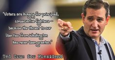 Ted Cruz Conservative Fighter