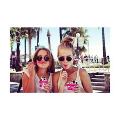 Lets float away together ❤ liked on Polyvore featuring pictures, photos, people, backgrounds and friends