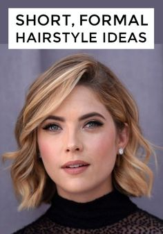 Whether you're planning a pixie cut for your big day or just want the perfect style for your choppy bob, we've got plenty of celebrity inspiration for short wedding hairstyles. Start looking for the style that suits you!