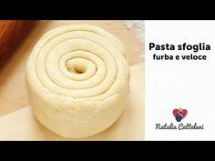 PASTA SFOGLIA FURBA E VELOCE | Ricetta facile | Natalia Cattelani - YouTube My Favorite Food, Favorite Recipes, Pasta Maker, Bread And Pastries, Antipasto, Italian Recipes, Buffet, Bakery, Deserts