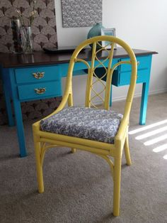 Cane Chair Makeover x 3 - Same But Different