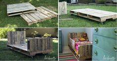 DIY Toddler Pallet Bed