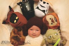 Baby Princess Leia - 37 Newborns Wearing Adorable Geek Baby Clothes Is Going to Melt Your Geeky Heart Newborn Sibling, Newborn Baby Photos, Newborn Shoot, Newborn Pictures, Baby Pictures, Star Wars Baby, Nerd Baby, Meninas Star Wars, Baby Art