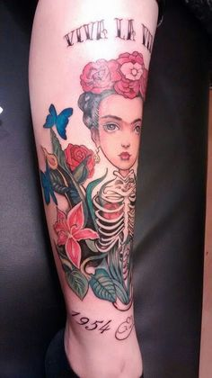Frida tattoo Lacombe