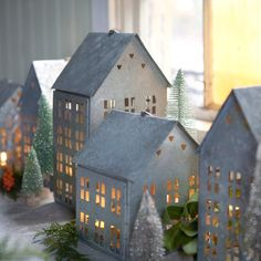Cutout House Lantern in House+Home HOME DÉCOR Room Accents Candleholders at Terrain