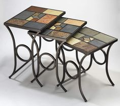 Looking for Hillsdale Furniture Pompeii Nesting Tables, Black gold metal slate mosaic ? Check out our picks for the Hillsdale Furniture Pompeii Nesting Tables, Black gold metal slate mosaic from the popular stores - all in one. Large Table, Small Tables, End Tables, Occasional Tables, Accent Furniture, Table Furniture, Living Room Furniture, Kitchen Furniture, Metal Furniture