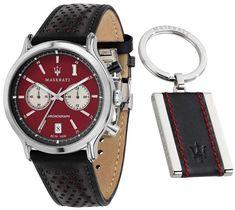 Maserati Levante, Instruments, Bracelet Cuir, Automatic Watch, Stainless Steel Case, Quartz Watch, Watches For Men, Accessories, Black Water
