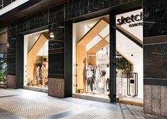 Pauzarq creates house-shaped archways in Sketch concept store