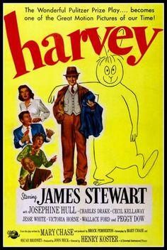 Harvey James Stewart Movie Film Poster Print by BloominLuvly, $9.95