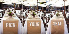 Für alle Typo-Fans: Eine Hochzeitsdeko mit Worten - Hochzeitsblog Fräulein K. Sagt Ja