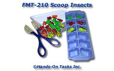 Scoop Insects Fine Motor Activity