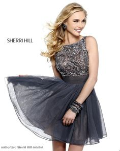 Prom Dresses 2013 - Sherri Hill 11032 Vintage Beaded