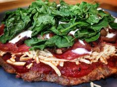 """Our 5280 Beef® featured in a mouthwatering recipe shared by my sweet friend Tina Turbin of Paleomazing!   From Paleomazing:   Meatza? What exactly is a """"meatza?"""" Well, think of pizza but then let's think of pizza made of meat. I am not talking just some pepperoni on top of a pizza or ordering double meat. I am talking full on meat. A whole pizza made of meat. Now that is some protein!!!"""