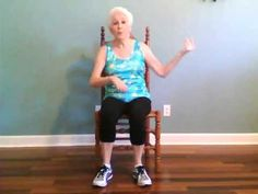 Wheelchair sitting exercise bike fitness from a chair for Chair zumba