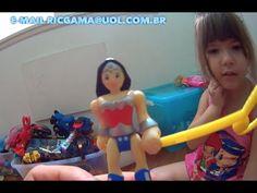 #3 O Monstro Barbie Ken Batman Hulk  Mulher Maravilha Superman Homem Ara...