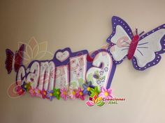 carteles bebé foami - Buscar con Google Cardboard Letters, Wood Letters, Letters And Numbers, Foam Sheet Crafts, Foam Crafts, Paper Crafts, Cute Crafts, Diy And Crafts, Crafts For Kids