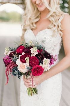 Color Swatches Aren't Just For Painting Walls! Jewel Tone Wedding, Red Wedding, Wedding Season, Wedding Colors, Rustic Wedding, Wedding Photos, Wedding Day, Wedding Stuff, Prom Bouquet