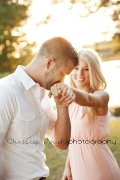 Sunset engagement photography; Christie Leigh photography; engagement session, country, lake, sunset, ring picture, wedding photography Lake Engagement Photos, Engagement Photography, Engagement Session, Wedding Photography, Ring Pictures, Sunset, Country, Couple Photos, Couples