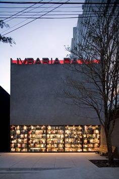 Livraria da Vila [bookshop] by Isay Weinfeld
