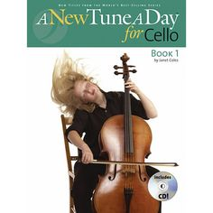 A New Tune A Day for Cello. Easy to follow learn to play cello book with useful fingering chart and audio CD. $21.95