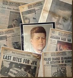 50 Years Ago Today–November 22, 1963 #jfk #familyhistory