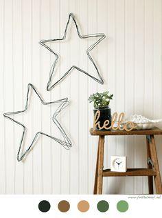 Une étoile en fil de fer, c'est le tutoriel que je vous conseille aujourd'hui avec un simple fil de fer assez épais et une pince plate ...