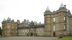 Holyrood Palace, built in 1529 and home to King James V, is now Queen Elizabeth's official Scottish residence.  It stands on one end of the royal mile in Edinburgh, with the Edinburgh castle on the other end.