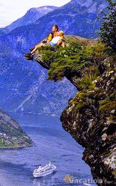 Romantic place, Norway.