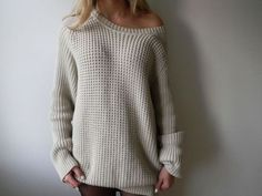 love oversized sweaters for fall