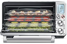 Shop Breville the Smart Oven Air Convection Toaster/Pizza Oven Stainless Steel at Best Buy. Find low everyday prices and buy online for delivery or in-store pick-up. Stainless Steel Countertops, Stainless Steel Oven, Best Convection Microwave, Small Dishwasher, Bacon In The Oven, Kitchen Timers, Oven Racks, Food Preparation, Cool Things To Buy