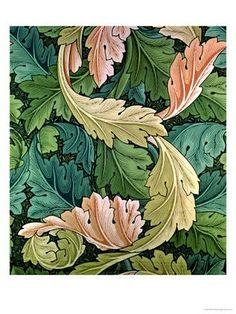 Leaves by William Morris