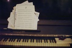Ahh, I love the smell of sheet music in the morning.