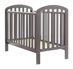 Obaby Lily Cot in Taupe Grey http://www.parentideal.co.uk/mothercare--cots-cot-beds.html
