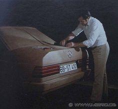 OG | 1982 Mercedes-Benz 190 - W201 | Full-size clay model